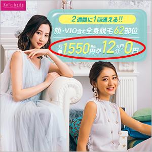 月額1,550円12カ月分0円のカラクリ